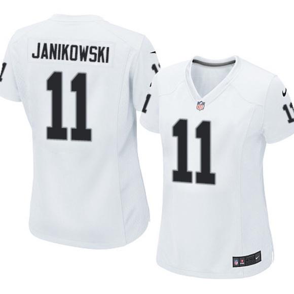 NFL Tops - Oakland Raiders JANIKOWSKI Jersey